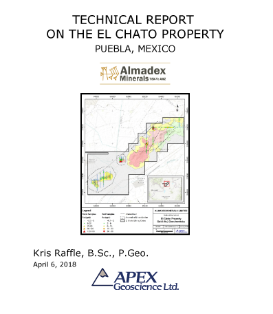 Technical Report Chato Property, Almadex