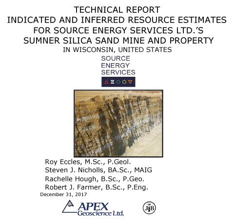 Resource Sumner Silican Sand Mine, Source Energy